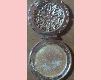 Glowing Solid LAVENDER Perfume Locket!