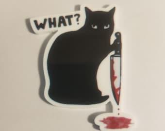 Murderous Kitty Needle Minder