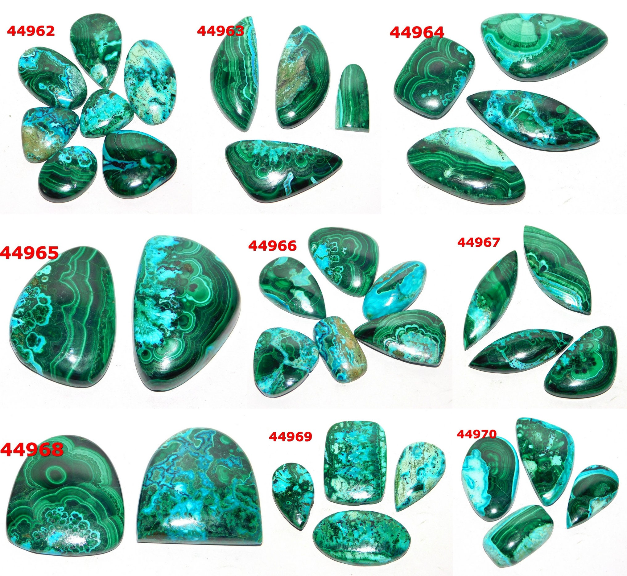 AAA+ 100% Natural Spectacuar Azurite Malachite gemstone Very smooth Azurite Malachite loose stone top look Azurite Malachite cabochon stone