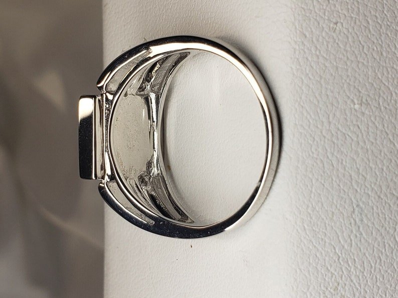 Stunning Sterling Silver Triplet Ammolite Ring