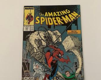 aa8c60a03 Amazing Spider-man  303 9.2  Sandman appearance  Todd McFarlane Art  Marvel  1988