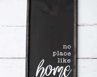 No Place Like Home - black