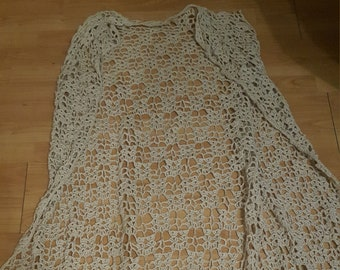 Crochet Boho Long West/Hand Made