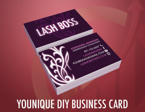 image 0 - Younique Business Cards