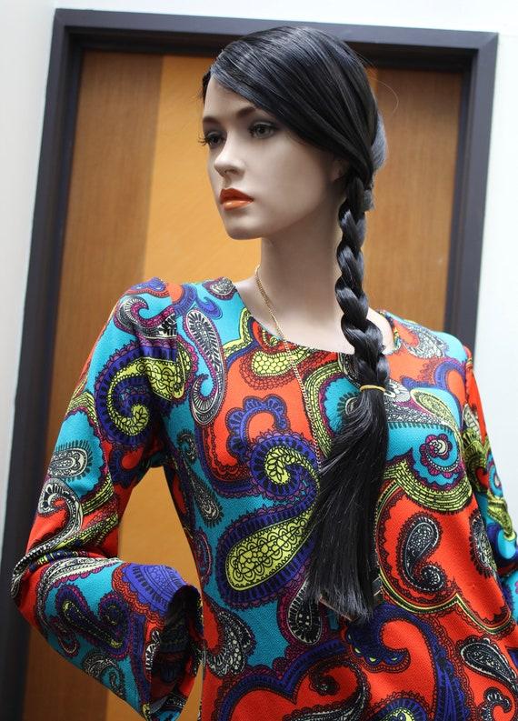 Unique paisley dress/top