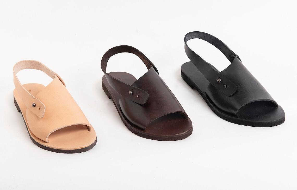 Natural Leather Summer Shoes Sandals Women - Big Sale KwoAi