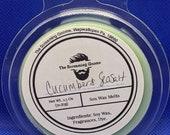 Cucmber Sea Salt Scented Soy Wax Melts 2.5oz