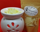 Country Lemonade scented soy wax melt brittle 2 oz
