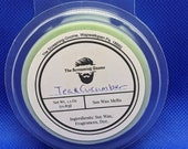 Tea and Cucumber Scented Soy Wax Melts 2.5oz