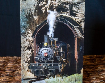 V&T Railroad Train Greeting Card with Special Inside Image
