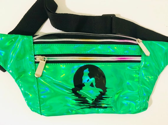 Watercolor Lion Head Sport Waist Pack Fanny Pack Adjustable For Run