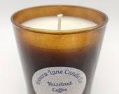 Hazelnut Coffee - Soy Wax Amber Jar Candle