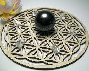 Emf Protection Sacred Geometry Hologram Pendant Sterling