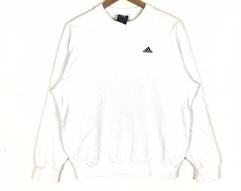 69e169fceee8c Items similar to Vintage 90s ADIDAS EQUIPMENT Stripes White Colour ...