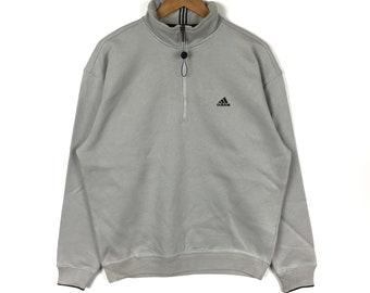 02bf302d44b9f ADIDAS EQUIPMENT Stripes Black Pullover Sweatshirt Large Size | Etsy