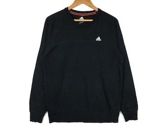 543d45a51e74c ADIDAS EQUIPMENT Stripes Black Colour Pullover Sweatshirt | Etsy
