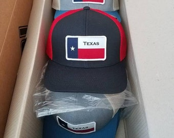 Texas State Flag patch Trucker Hat