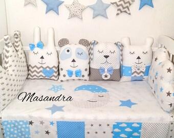 Cushion protector 9pcs bumper pillow