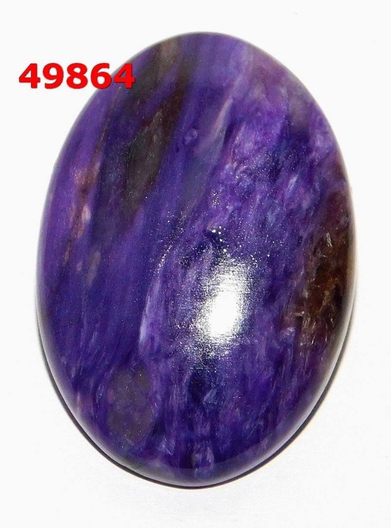 Semi Precious Charoite Amazing Cabochon Charoite Healing Crsytals Well Polished Charoite Gemstone Beautiful Charoite Natural Loose Stone