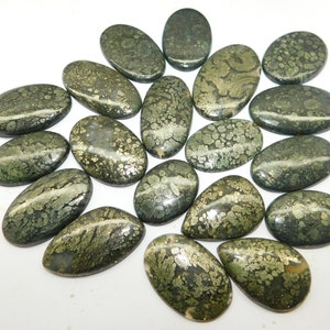 #8106N Best Price Natural Marcasite Cabochon Gemstone Marcasite Loose stone Wholesale Price Marcasite Gemstone From Nipomo 33 Cts