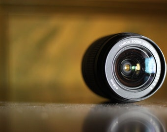 Photography Lover, Still Life of a Lens