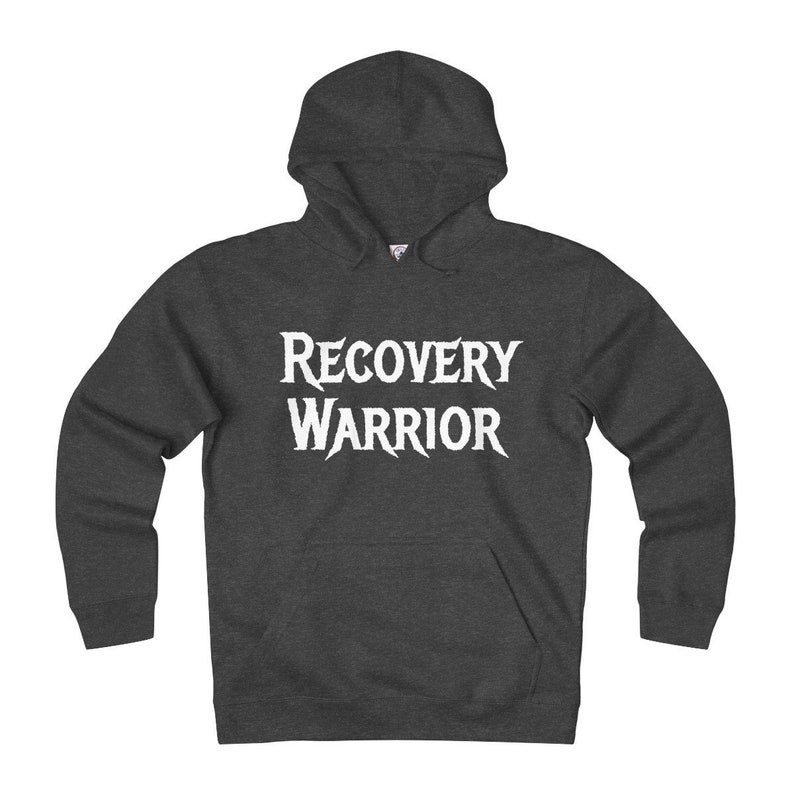 4e98cfc6a Recovery Warrior Hoodie Sweatshirt Get Well Gift Cancer   Etsy