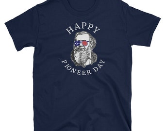 Pioneer Day Shirt Brigham Young Party T-Shirt