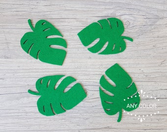 Palm Leaf Coaster Etsy
