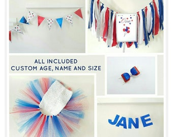 4th of July birthday outfit,Patriotic girl outfit,USA tutu,4th of July decoration,Patriotic theme party,Independence shower theme,USA decor
