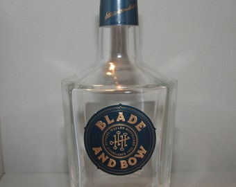 Blade and Bow bourbon bottle - empty