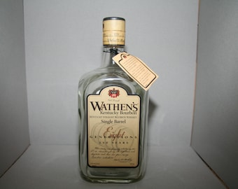 Wathen's bourbon bottle - empty