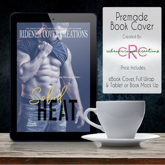 Premade Book Cover Solid Heat Book Cover Ebook Cover Digital Book Cover Digital Ebook Cover Novel Cover Digital Art Fiction