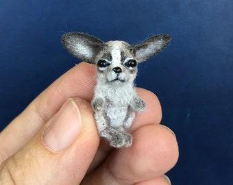 Tiny crochet dog   Etsy