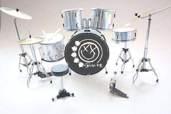 YAMAHA Miniature Mini Drum Set Drumset For DECORATION ONLY