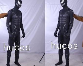 Venom Jumpsuit Venom Symbiote Zentai Cosplay Costume 310e2438f