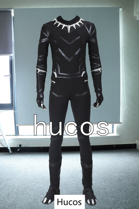 Captain America 3 Civil War Black Panther Costume T'Challa Cosplay