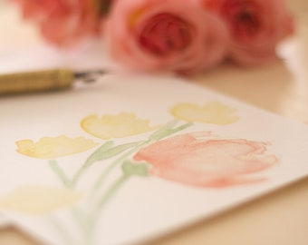 Floral Bunch Stationery Notecards
