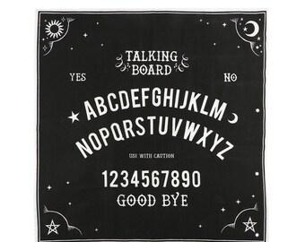 Talking Board Altar cloth - Altar Cloth - Spirit Board - Divination - Tarot cards - Intentions - Spells - Manifesting - Altar - Gift  - 70cm