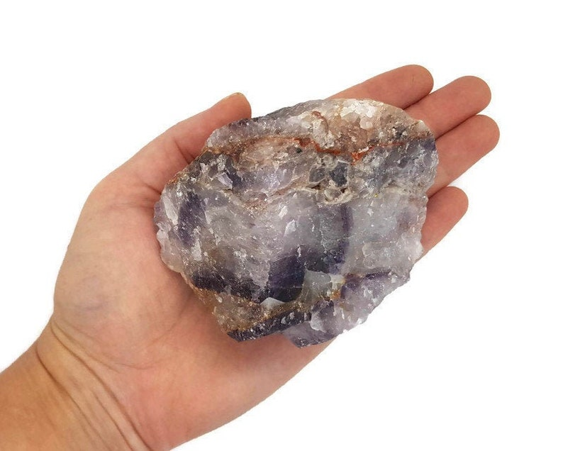 Large Natural Raw Amethyst Crystal  Rough   Rock  image 0