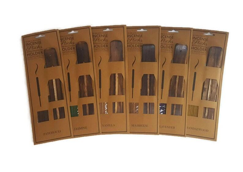 Incense Gift Set   20 Stick Packet  Incense Holder  image 0