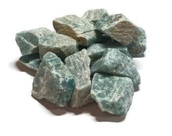 Natural Raw Mozambique Amazonite Crystal - Amazonite Crystal -  Reiki  -  Anxiety -  Communication - Meditation - Chakra  - Gift - 5g - 150g