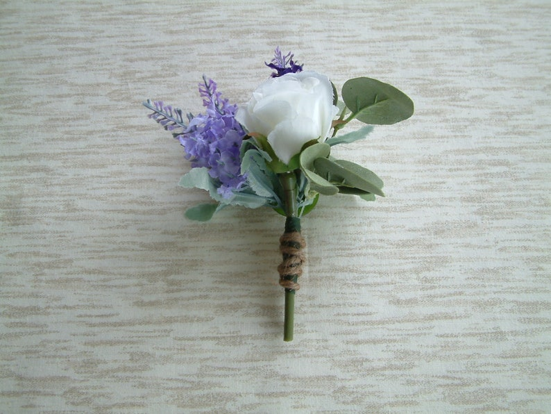 Homecoming corsage Quinceanera corsage Wedding Accessories Boutonniere Burlap Boutonniere Country Wedding Wrist corsage Prom corsage