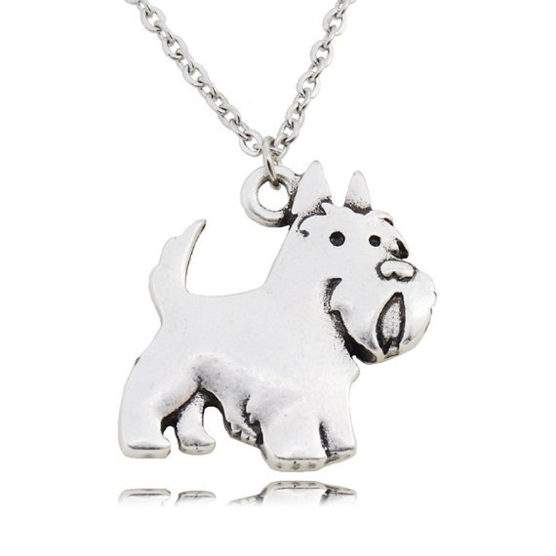 806db2257 SCOTTIE Scottish Terrier Dog Charm Pendant with .925 | Etsy