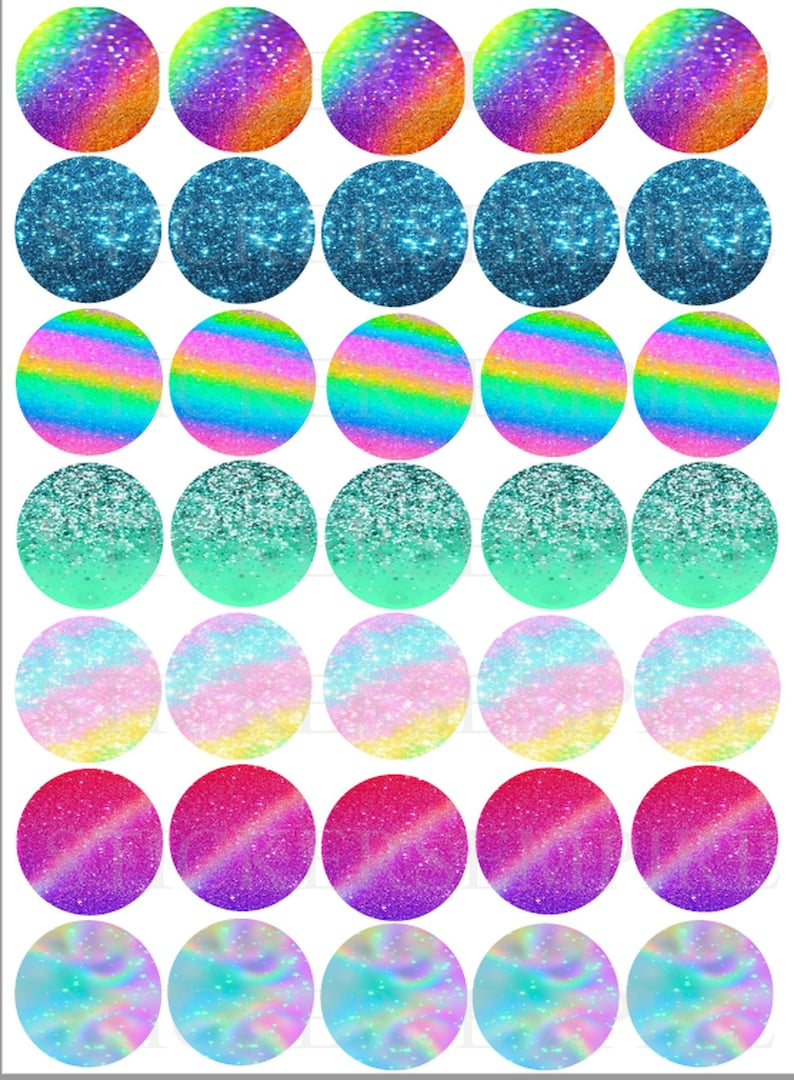 picture regarding Circle Printable Stickers identified as Glitter planner stickers,- Circle Printable Sticker Sheet -Print at Dwelling - satisfies Erin Condren Daily life Planners- Glitter Stickers/Glitter Planner