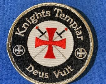 Knights Templar/Deus Vult Patch