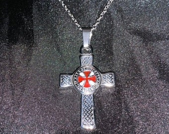 Templar pendant | Etsy