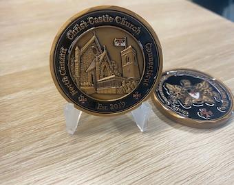OSMTJ-USA Christ Castle Church Challenge Coin