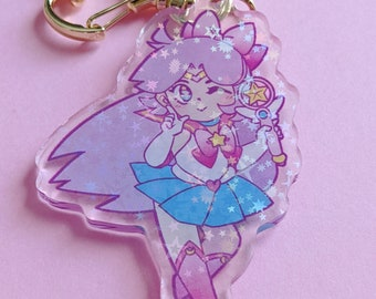 Love Guardian 2.5 Inch Holographic Keychain Charms