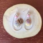 Sunrise Shell Teardrop Earrings