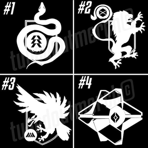 Destiny 2 Hunter Titan Warlock Class Logo Emblem Ps4 Xbox Pc